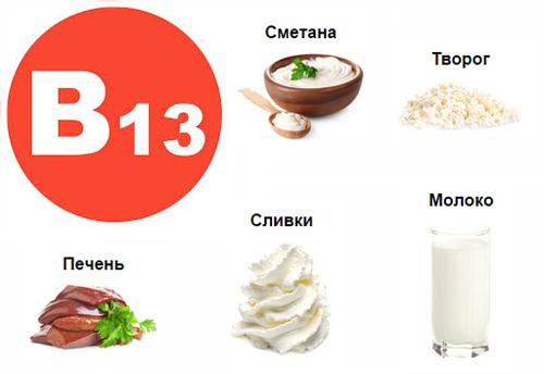 витамин в13